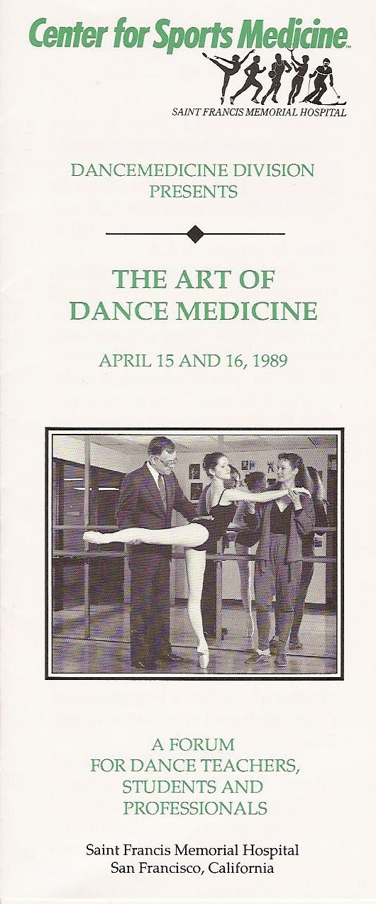 The Art of Dance Medicine