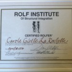 Celebrating 18 Years as a Certified Rolfer